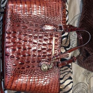 Brahmin purse with wallet included